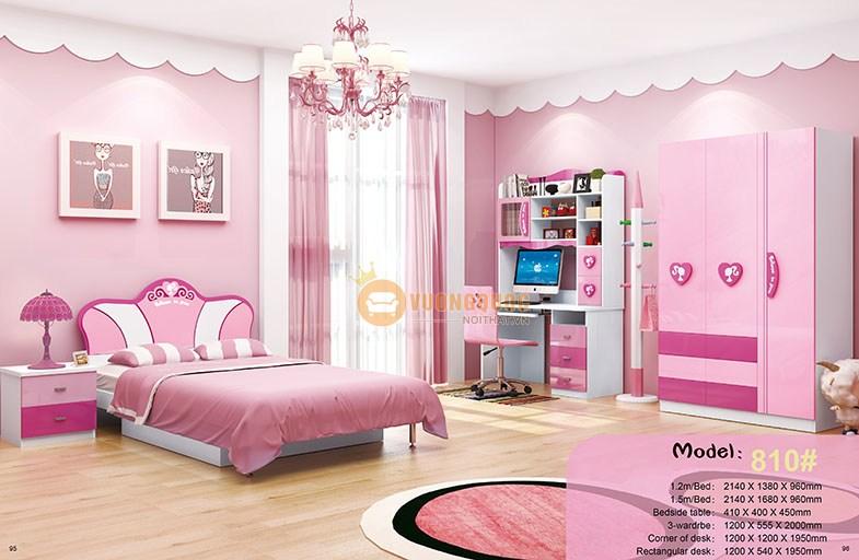 Nội thất phòng ngủ cho bé gái