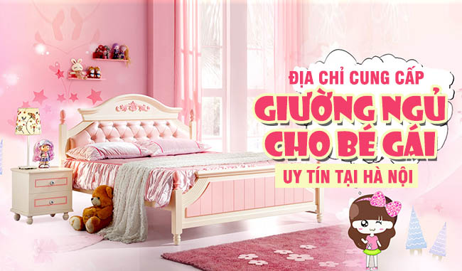 Tiêu chí chọn cửa hàng uy tín để mua giường bé gái 3 tuổi