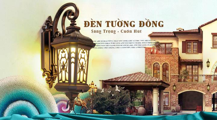 Showroom đèn ốp tường cầu thang uy tín, chất lượng tại Hà Nội