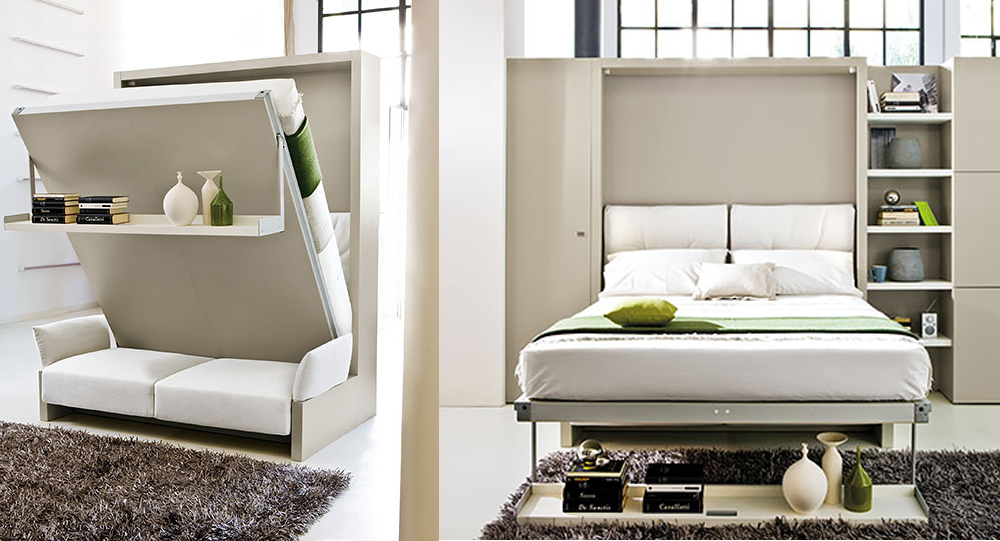 Giường đa năng 7 kiểu kết hợp ghế sofa