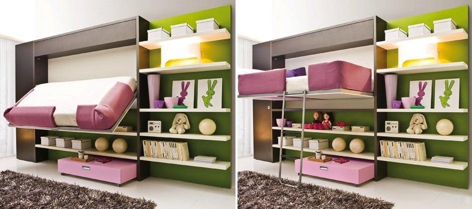Giường ngủ đa năng 7 kiểu – thiết kế đề cao sự tiện nghi