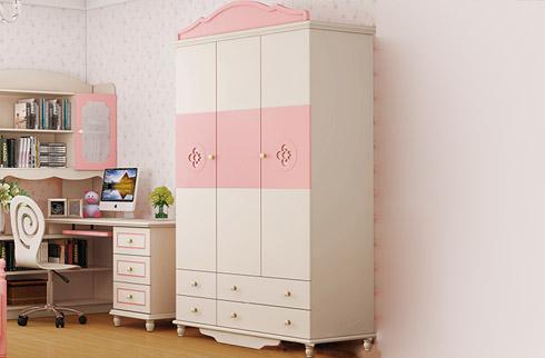 Thích thú với mẫu tủ quần áo cho bé gái đáng yêu giá rẻ