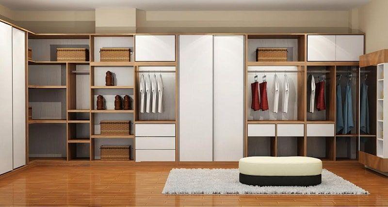 Các loại tủ quần áo hiện đại đa năng hiện nay