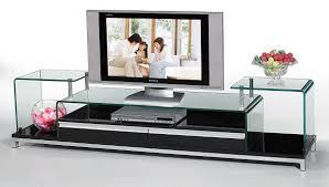 Kệ tivi hiện đại bằng kính