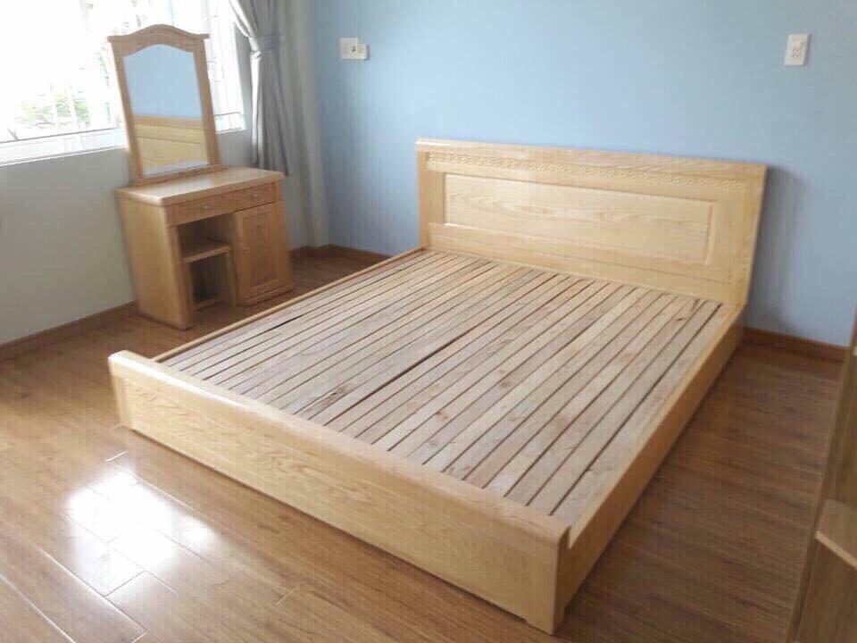 Chất liệu gỗ sồi được sử dụng phổ biến trong thiết kế nội thất