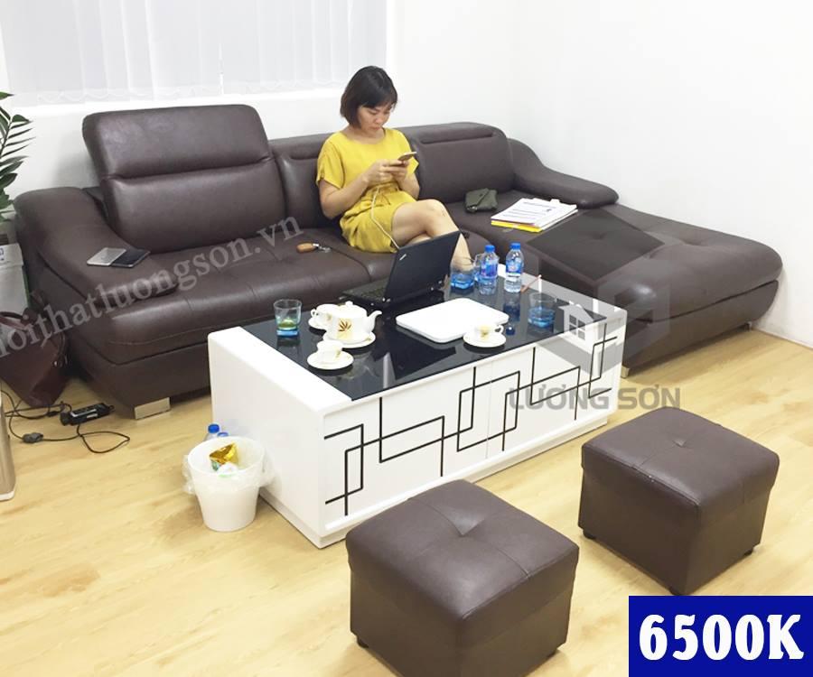 Sofa da giá rẻ của Lương Sơn