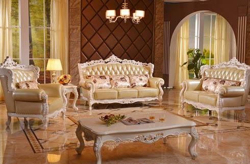 Bàn ghế sofa cổ điển - thiết kế đẹp mắt