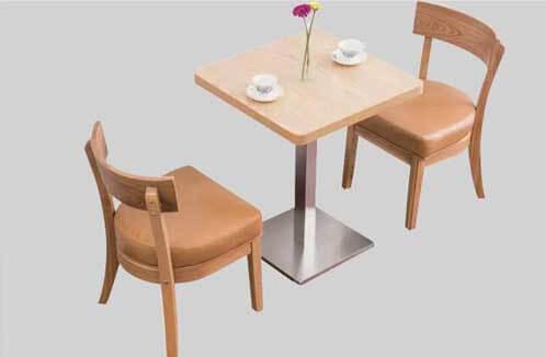 Kích thước bàn ghế café gỗ phù hợp