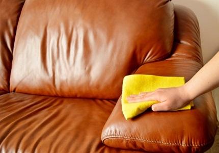Sofa da nhập khẩu Hàn Quốc – dễ dàng vệ sinh