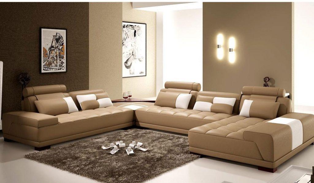 Sofa da nhập khẩu Hàn Quốc – kiểu dáng sang trọng