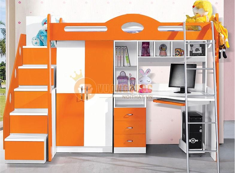 Giường tầng trẻ em thời thượng BABY BLA07