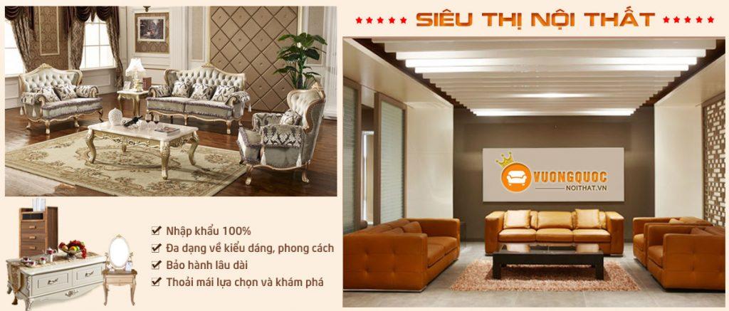 Vương quốc nội thất – địa chỉ bán sofa uy tín hàng đầu
