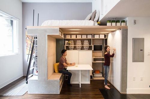 Lợi ích khi sử dụng nội thất tiết kiệm diện tích