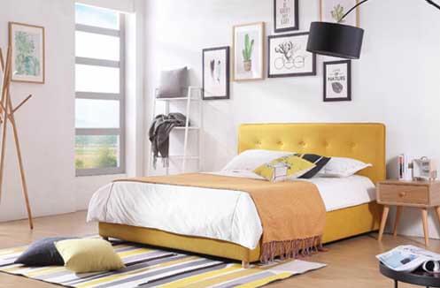 Giường ngủ phòng nhỏe